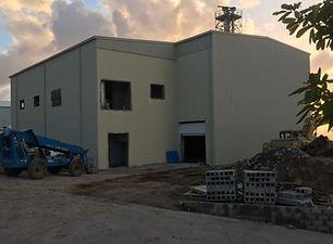 Montserrat Utilities metal building contruction