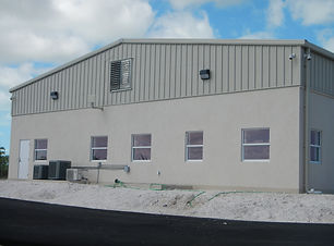 Fortis North Caicos Warehouse steel construction