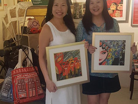 Closed my FIRST sale at the CHC Art Gallery !