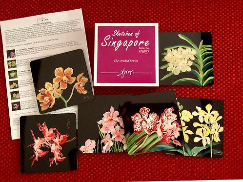 SOS 5 Orchids Coasters Reg