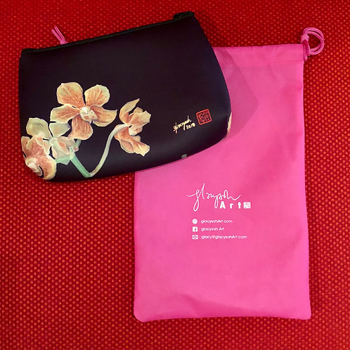 SOS 5 Orchids Neoprene Pouch Paravanda Nelson Mandela
