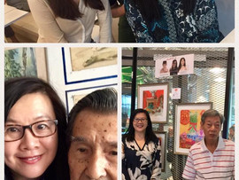 glacy and friends... art showcase at chinatown heritage centre