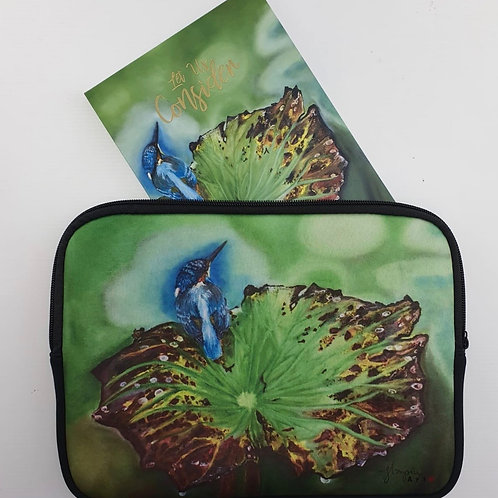 """Let Us Consider"" Book b/w Neoprene Holder with Zip(Kingfisher)"