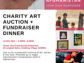 An Art Fundraiser for Afghan women and children