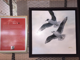 """Living @55... My signature piece is titled """"SOAR"""""""