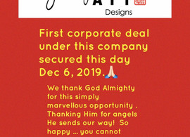 Dec 6, 2019 is A VERY SPECIAL DAY !