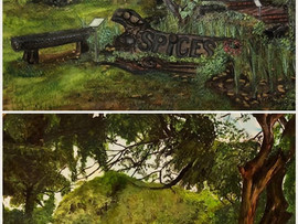 Two Fort Canning Park Paintings