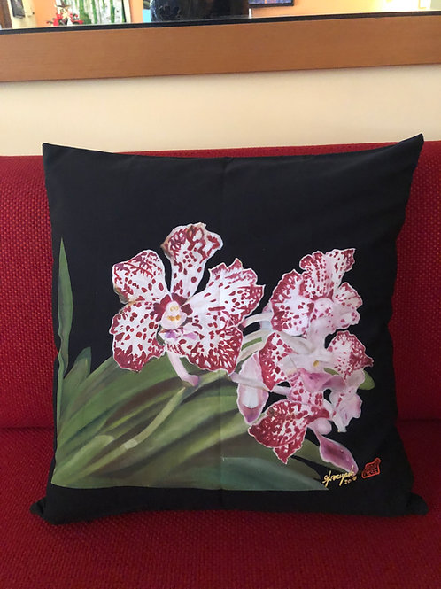 SOS 5 Orchids Cushion Covers William Catherine