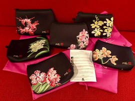 My Orchid Pouches ... available soon !