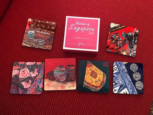 SOS 2 Peranakan Series 2017 Reg Coasters
