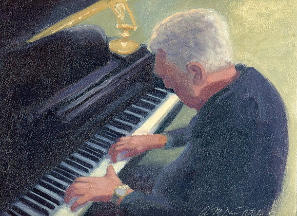 Piano Man SOLD