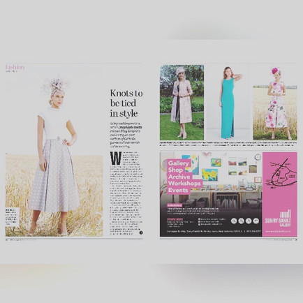 Featured in the Yorkshire Post Magazine
