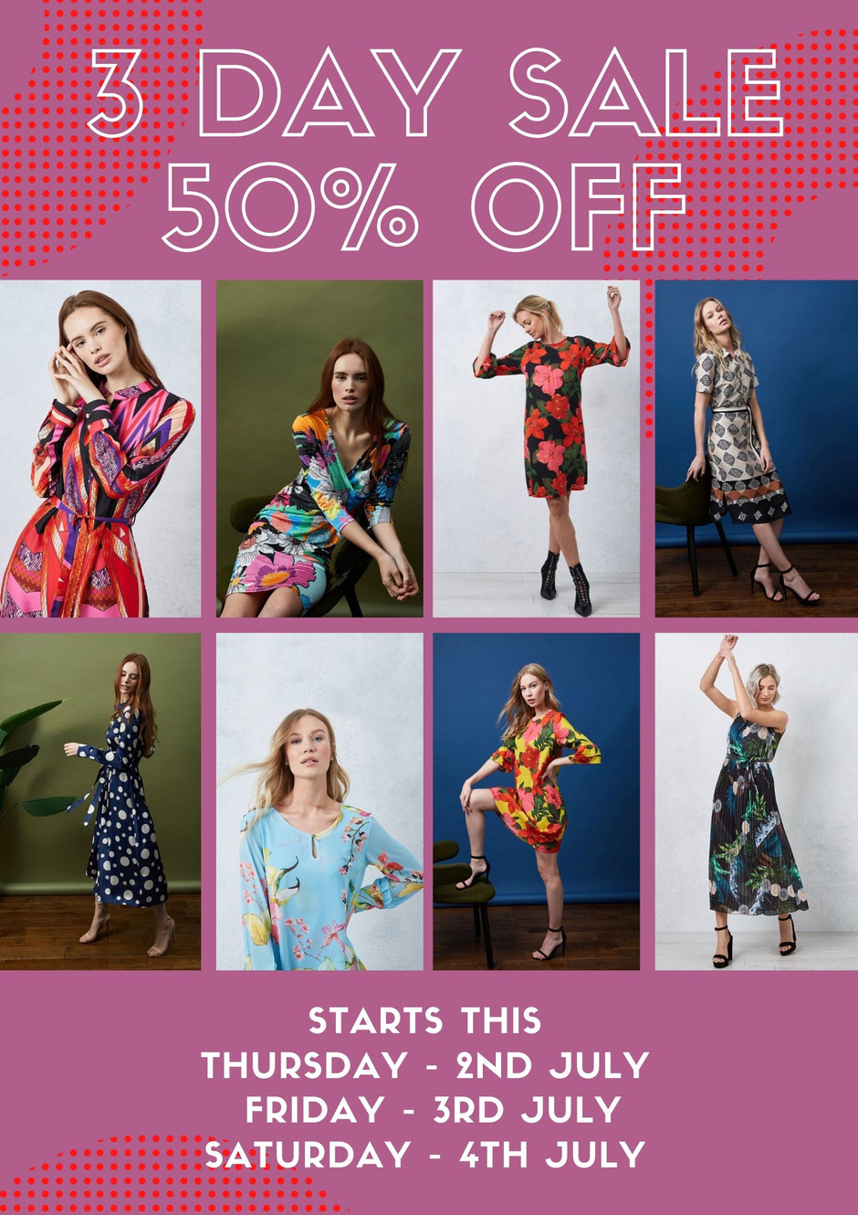 SALE - 50% OFF JAMES LAKELAND COLLECTIONS