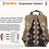 Camera Bag Batik Canvas Waterproof Photography Bag Outdoor Wear-resistant Large
