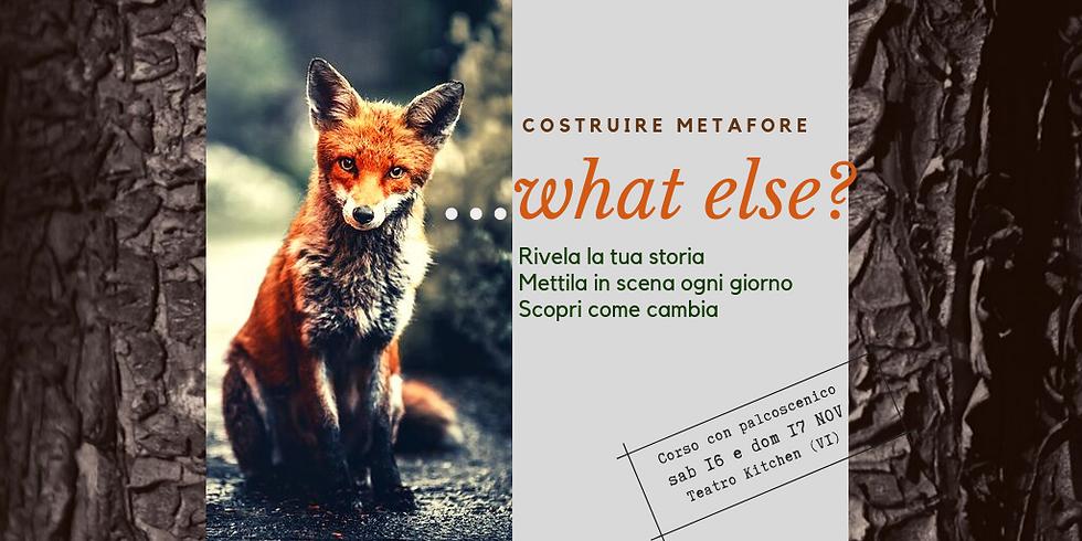Creare Metafore ...WHAT ELSE?