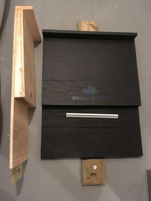 Painted Wedge Edge Bat Box