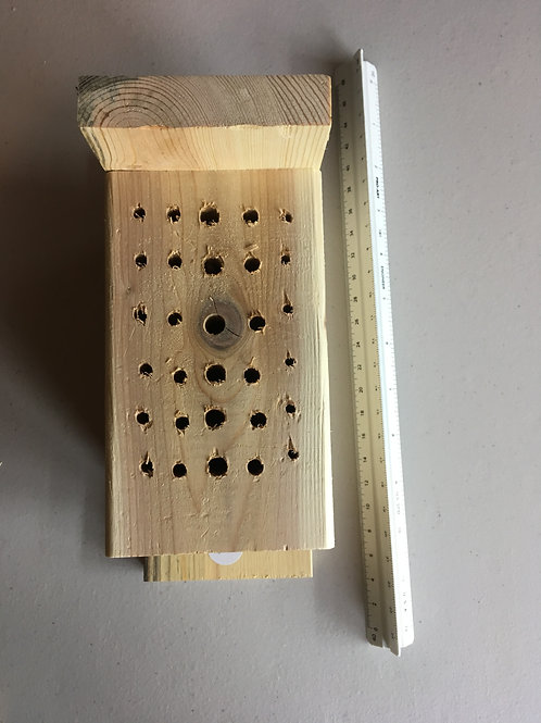 Bee - Solitary Bee Nest Block