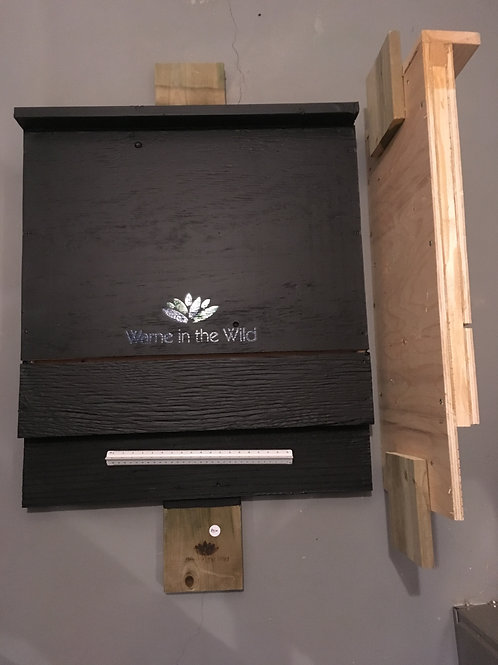 Painted Straight Edge Bat Box