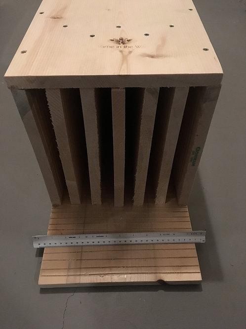 Unpainted 6-Chamber Maternity Bat Box
