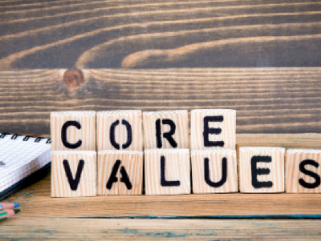 Are You In Touch With Your Values?