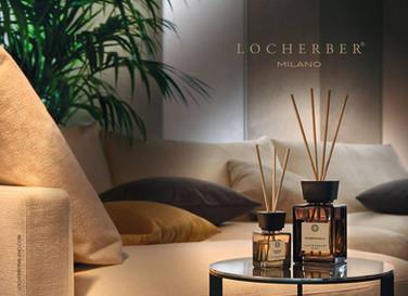Locherber difuzer