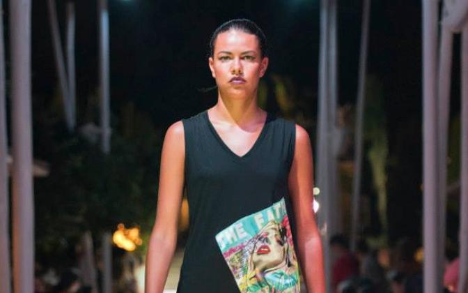 Wearable Art Fashion Show artwork on Silk