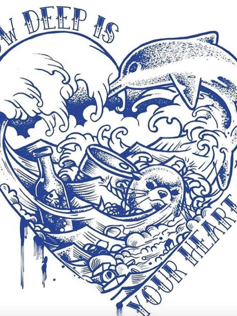 Crying Oceans T-shirts Design.jpg