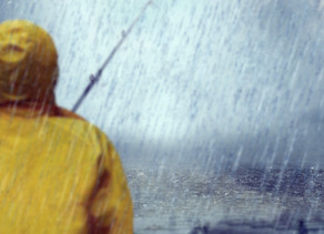 Why aren't you fishing in the rain?