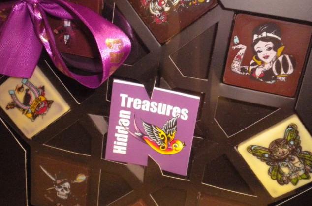 Detail Of Hidden Treasures.