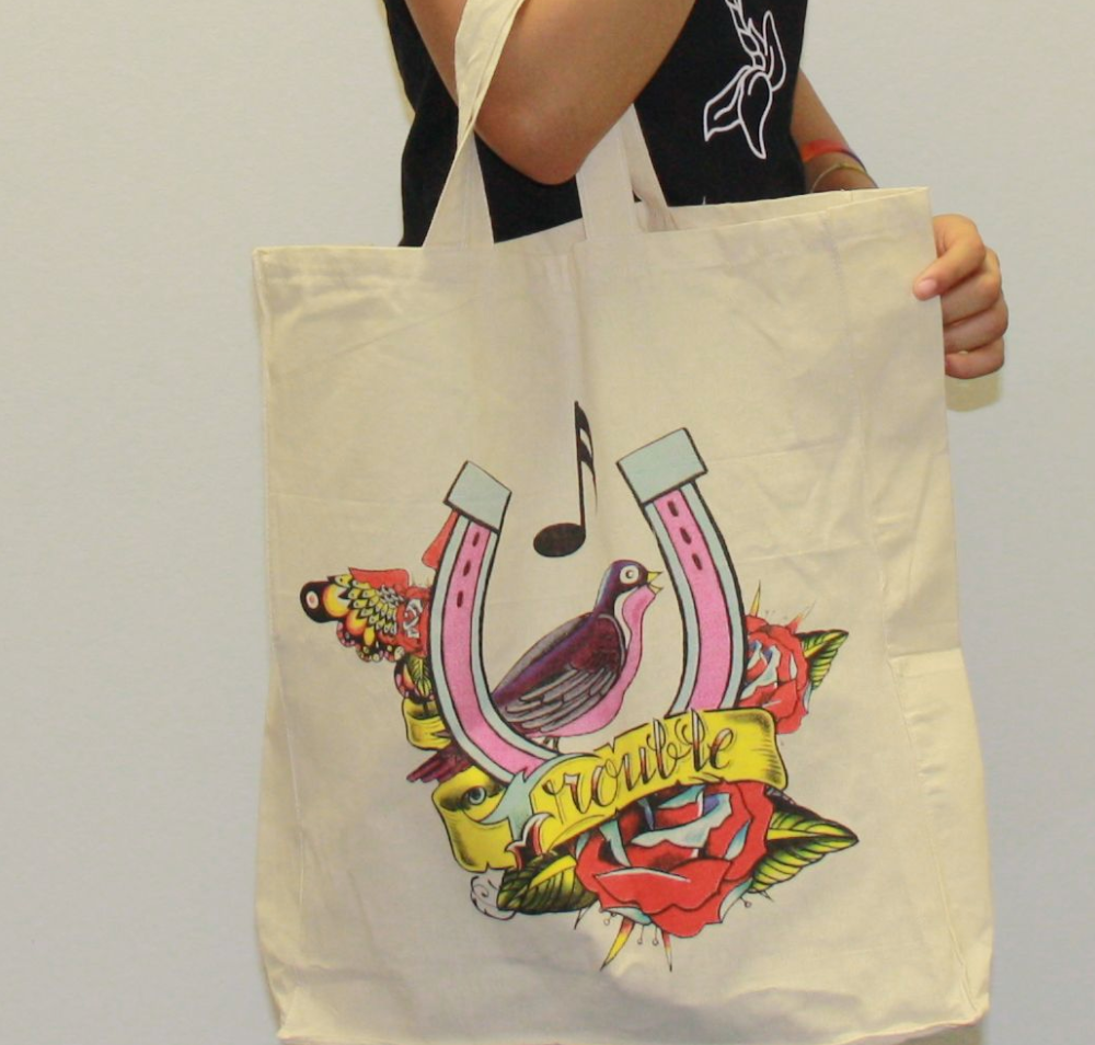 Amy Winehouse Foundation Design Tote