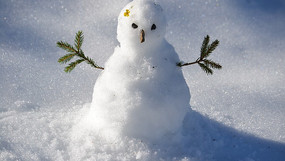 Felt like a snowman in your shower this morning?
