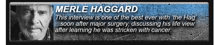 merle haggard interview bill way