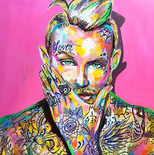 Joshua Acrylic On Canvas 2017