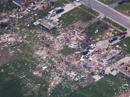 Tornado damage in Ohio: 140 mph winds reported, several injuries, at least 1 death
