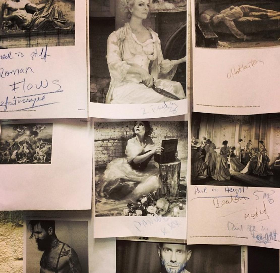 Studio Wall Notes