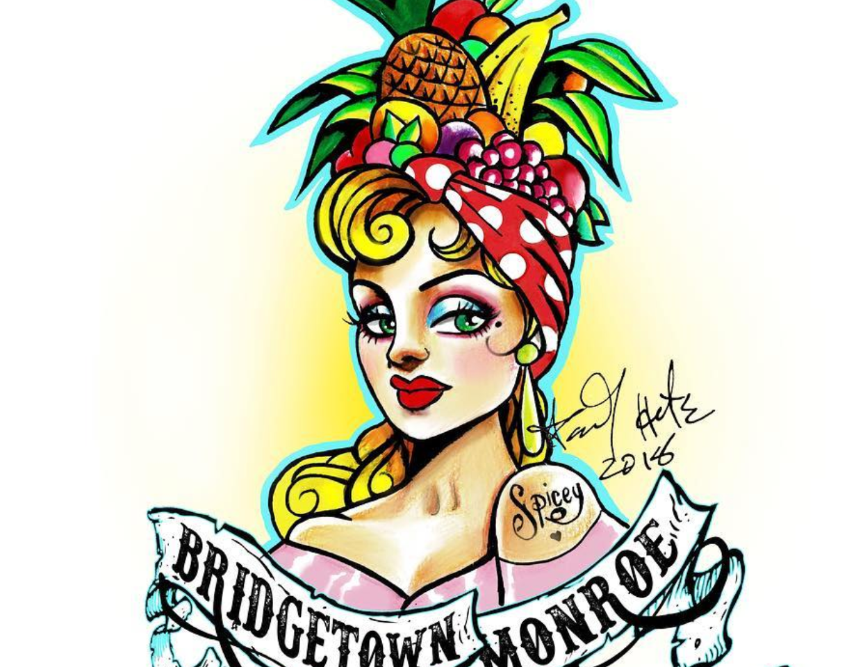 Final Logo Design For Bridgetown Monroe Rum Trucks