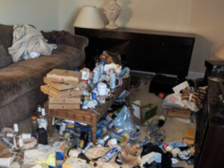 Did RENTERS leave your property in a MESS?