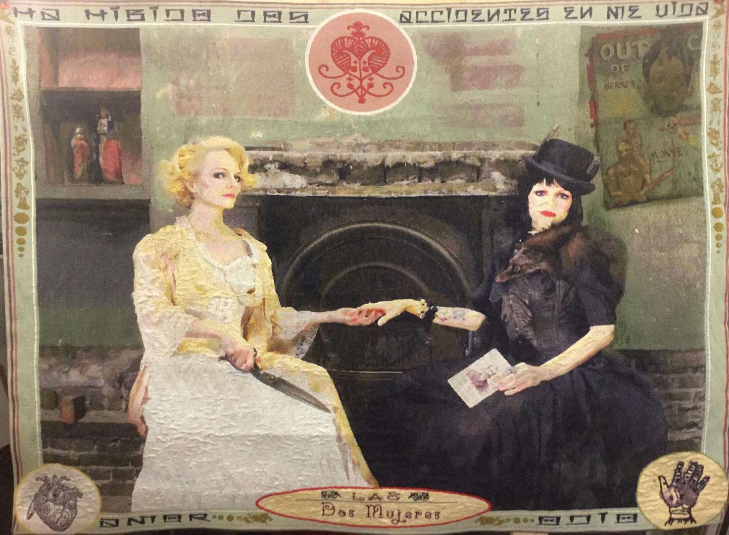 Las Dos Mujeres Tapestry