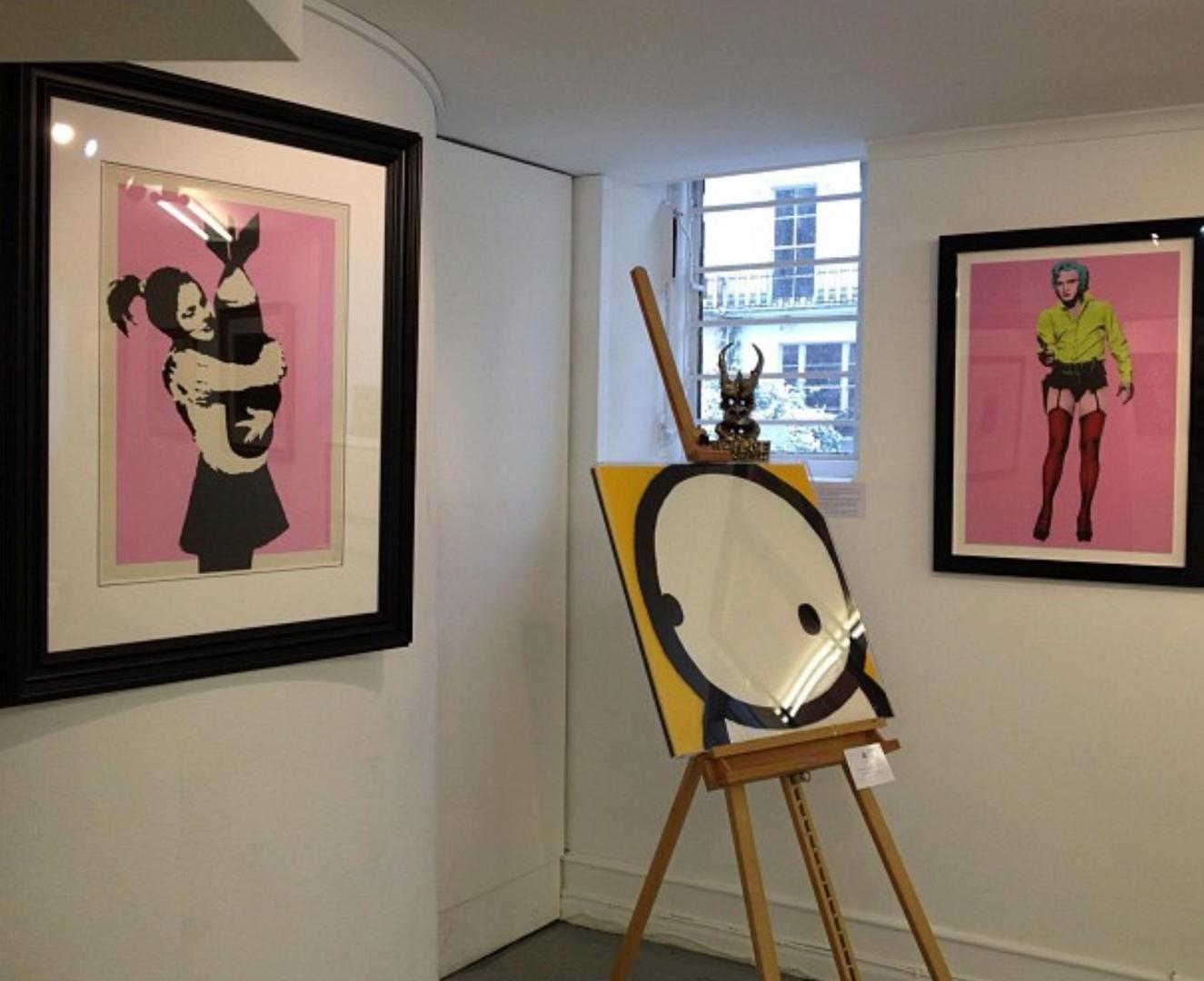 Banksy,  Stik, Henry Hate