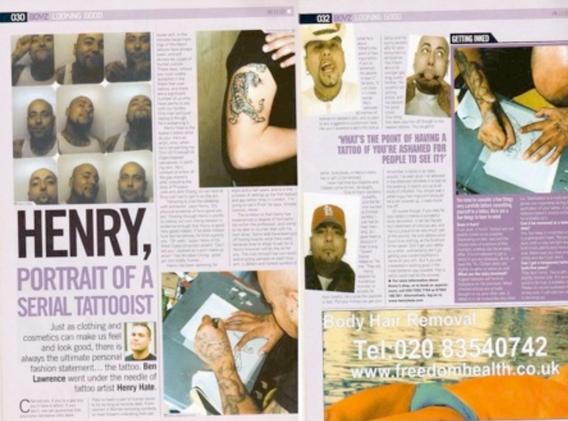 Boyz Magazine 2001