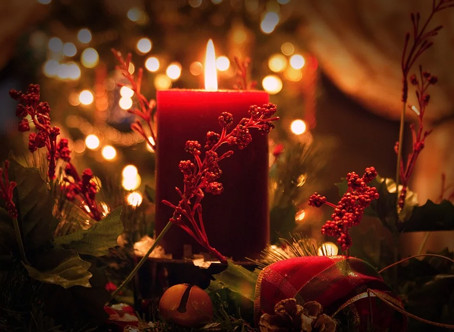 The dangers of holiday candles. Be aware, over 20 house fires a day are caused by...