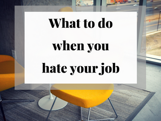Q&A: What Do I Do if I Hate My Job?
