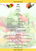 Food Menu Salads
