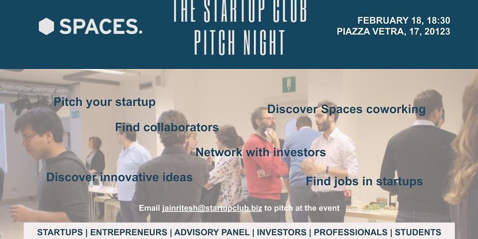 Startup Milan Club Pitch Night