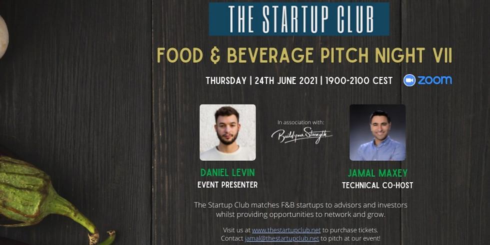 Food & Beverage Pitch Night VII