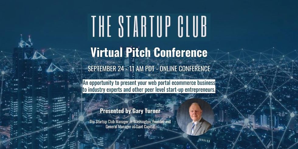 Virtual Pitch Conference for Startups