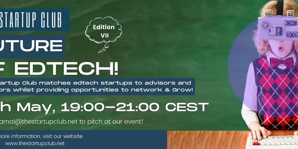 Future of EdTech VII - Online Pitch Night