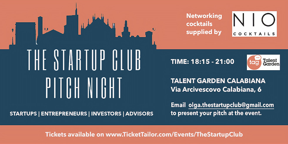Pitch Night at Talent Garden Milano