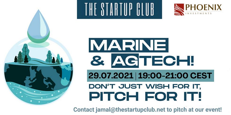 Marine & AgTech Pitch Night II