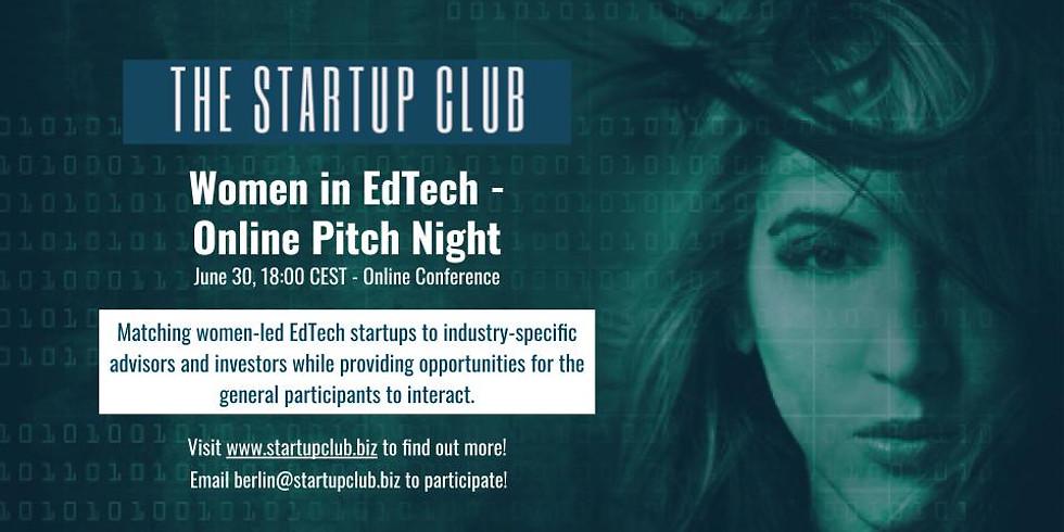 Women in EdTech - Online Pitch Night